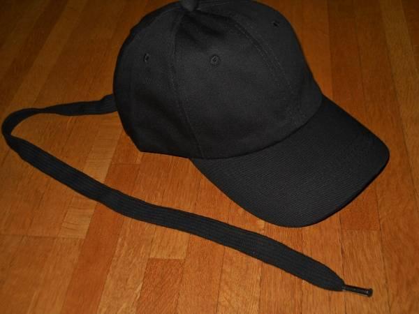 即決◆peaceminusone同型ロングストラップキャップ♪ジヨン黒黒
