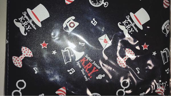 SUPER JUNIOR KRY 折りたたみミラー 鏡 ライブグッズの画像
