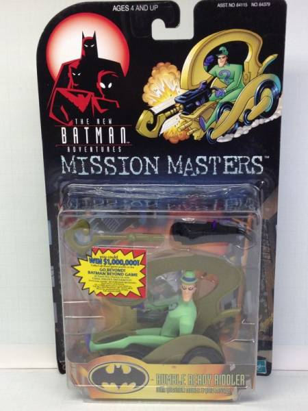 【HASBRO】 BATMAN★MISSION MASTERS★RUMBLE READY RIDDLER ライブグッズの画像