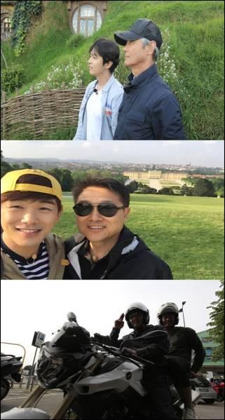 父と息子~世界一ぎこちない男二人旅~#5~8/iKON、John-Hoon