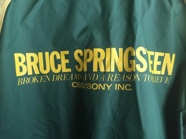 Bruce Springsteen CBS SONY 販促用 ブルゾン サイズM