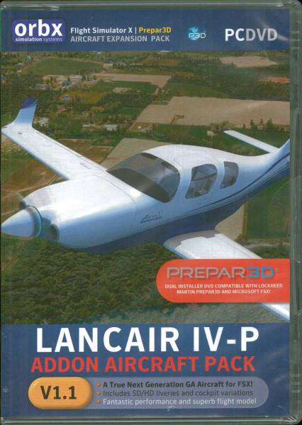 free shippingorbx Lancair IV-P(FSX+P3D) Ad on soft: Real
