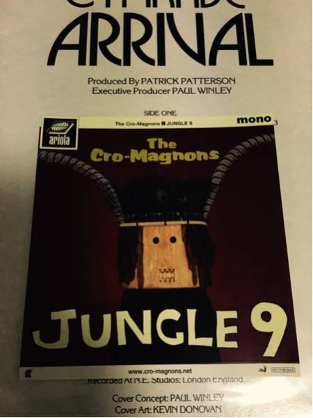 ザ・クロマニヨンズ / JUNGLE9 限定特典ステッカー