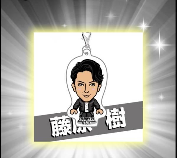 THE RAMPAGE★藤原樹 EXILE 15thトラステガチャクリーナー ライブグッズの画像
