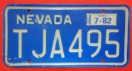 アメリカ合衆国のナンバープレート ネバダ州