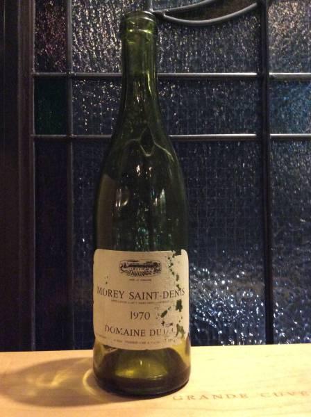 ヴィンテージ'70 デュジャック モレ サン ドニ ワイン空き瓶_画像2