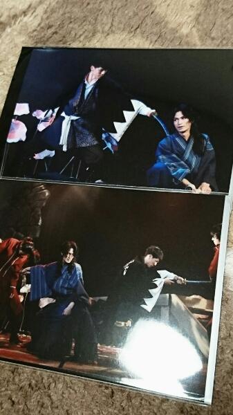 舞台「瞑るおおかみ黒き鴨」ランダムブロマイド 青木玄徳 松田凌