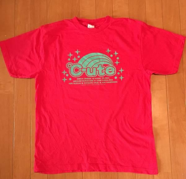 ℃-ute結成時2005年Tシャツ 赤