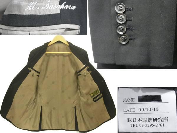 ロロ・ピアーナ 2つ釦スーツ 黒 ブラック 2Bシングル スーパー160'S Yng.Loro Piana & co 高級オーダースーツ WISH Super 160'S メンズ_画像3