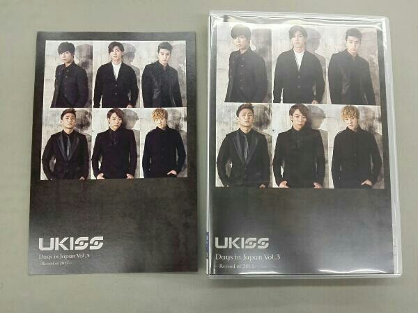 U-KISS Days in Japan Vol.3 ライブグッズの画像
