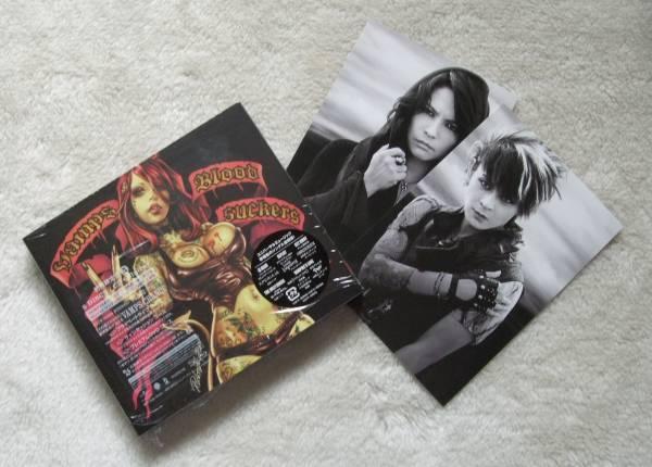 VAMPS アルバムCD 『BLOODSUCKERS 【初回限定盤A (CD+Blu-ray)】 』 VAMPROSE STORE特典オリジナルポストカードつき