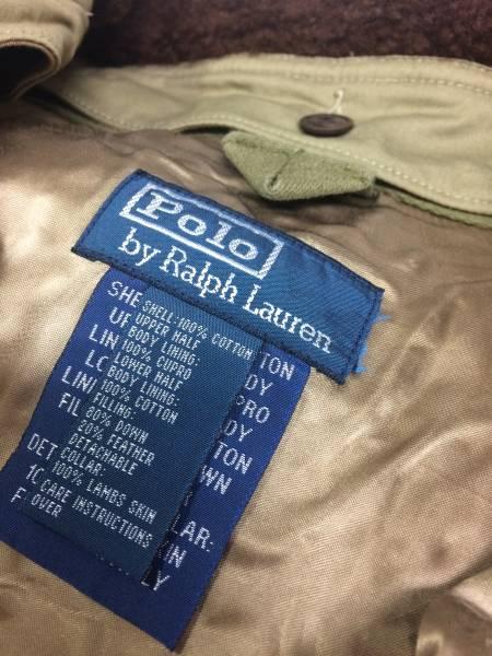新品 アウトレット 6697 XLサイズ コットン ダウン ジャケット ポロ ラルフ ローレン polo ralph lauren_画像3