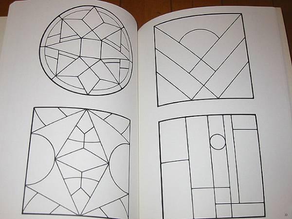 洋書 120の伝統的なステンドグラス パターン/ 120 Traditional Stained Glass Patterns(輸入品_画像4