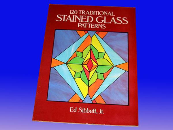 洋書 120の伝統的なステンドグラス パターン/ 120 Traditional Stained Glass Patterns(輸入品_画像1