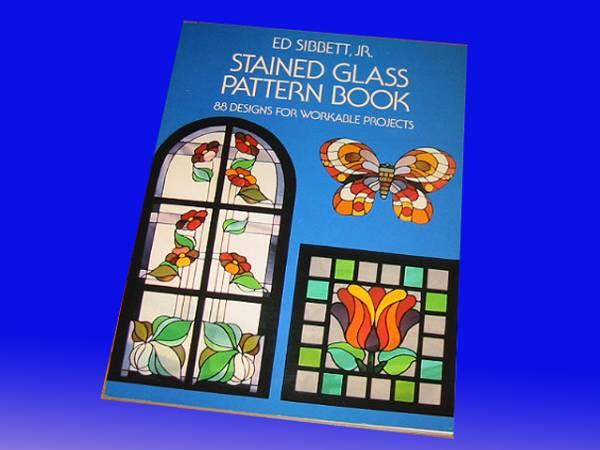 洋書 ステンドグラスパターンブック:プロジェクト88デザイン_画像1