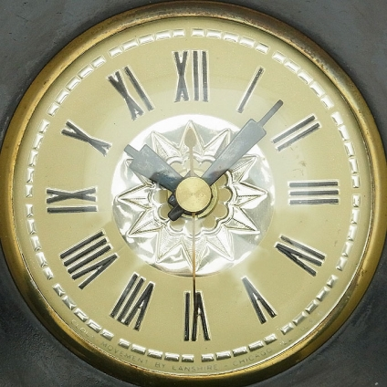 送料無料 アンティークウォールクロック UNKNOWN/ヴィンテージ壁掛け時計アメリカ製usa製ミッドセンチュリーモダン昭和レトロ北欧50s60s70s_画像3