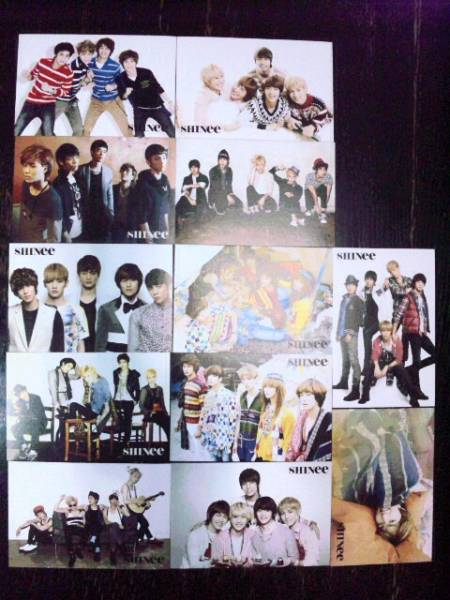 SHINee/y4/ポストカード12枚&ステッカー3枚