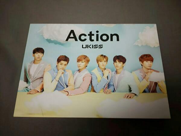 U-Kiss Action(初回限定盤)(DVD付) ライブグッズの画像