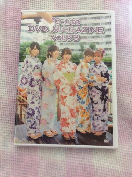 ℃-ute DVDマガジン vol.63 矢島舞美 中島早貴 鈴木愛理 岡井千聖 萩原舞