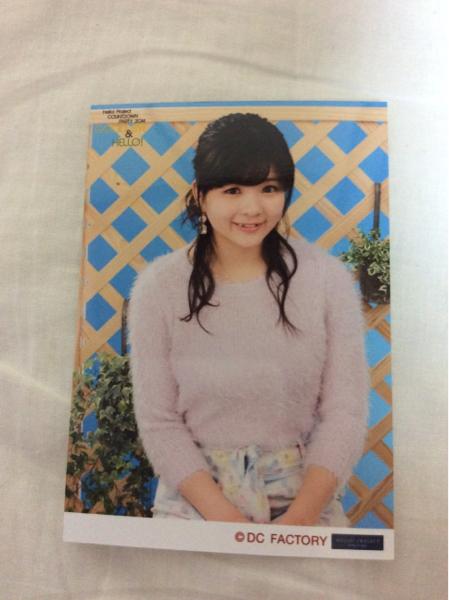 アンジュルム 田村芽実 生写真 COUNTDOWN PARTY 2014 通販限定