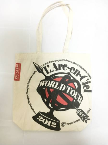L'Arc~en~Ciel WORLD TOUR 2012 トートバッグ