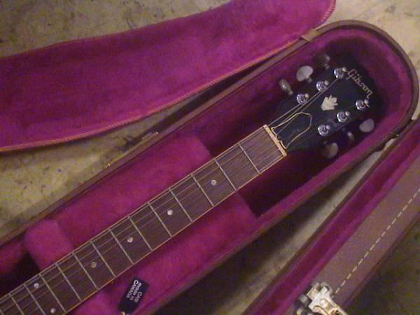 即決!89年製Gibson ES-335(純正ブラウンハードケース付)