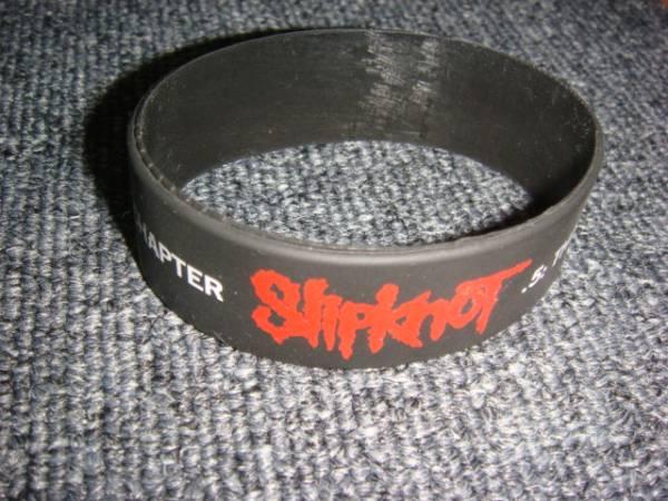 ■Slipknot(スリップノット)ラバーバンド 中古/KNOT FEST