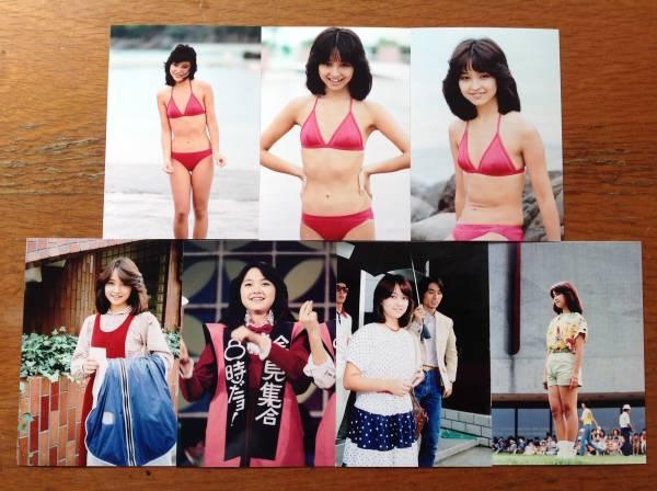 レア☆石川ひとみ写真Lサイズ14枚セット1