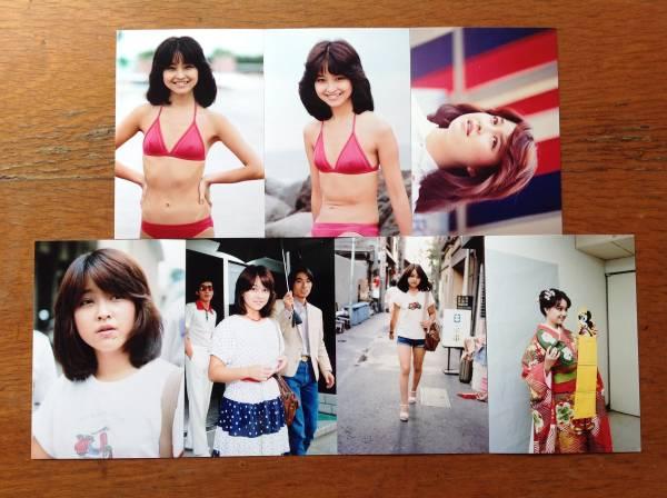 レア☆石川ひとみ写真Lサイズ14枚セット4