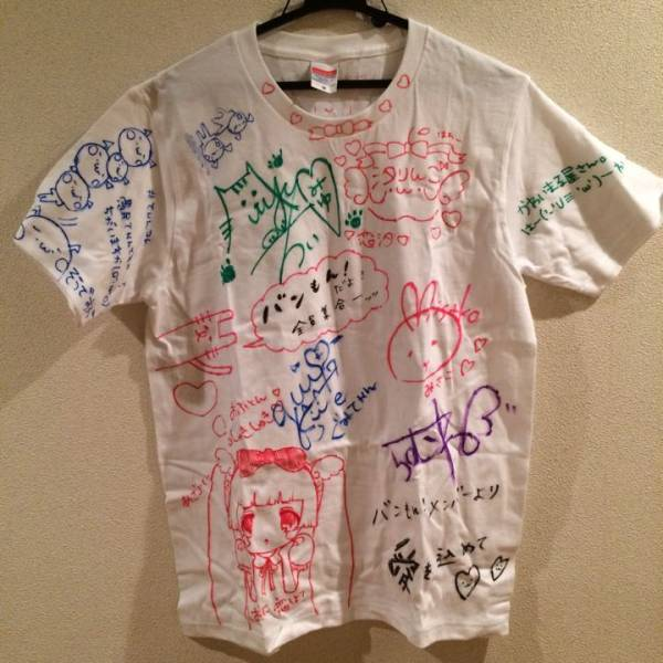 バンドじゃないもん バンもん 全メンバー サイン入り Tシャツ