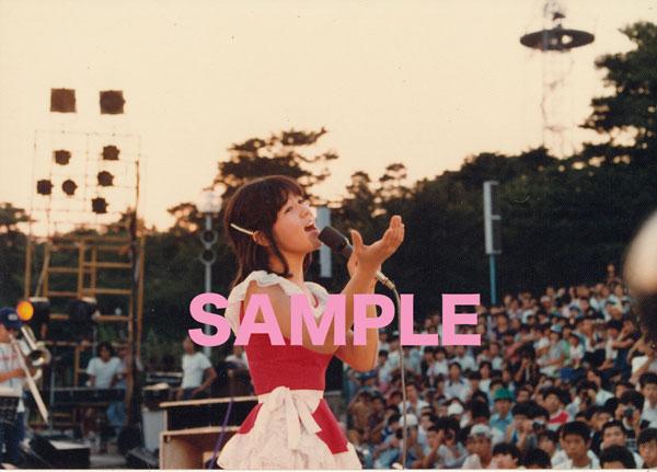 石野真子 生写真 #35 コンサート