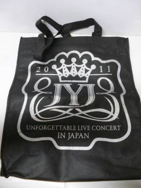 JYJ 2011 UNFORGETTABLE LIVE エコバッグ