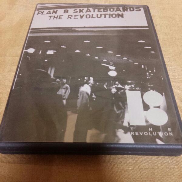 DVD Plan B THE REVOLUTION skateboard supreme LRG nesta ライブグッズの画像