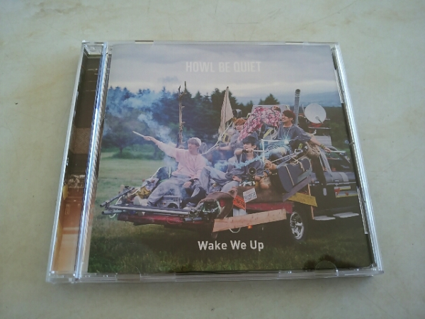Wake We Up HOWL BE QUIET CD(美品)