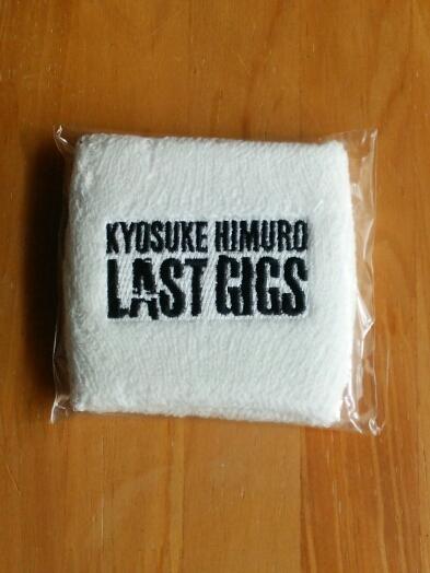 氷室京介 ラストギグス リストバンド