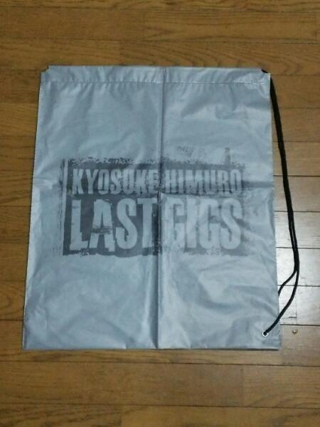 氷室京介 LASTGIGS ショッピングバッグ