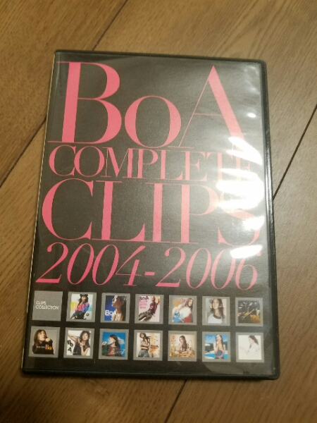 BOA BEST PV集 DVD ライブグッズの画像