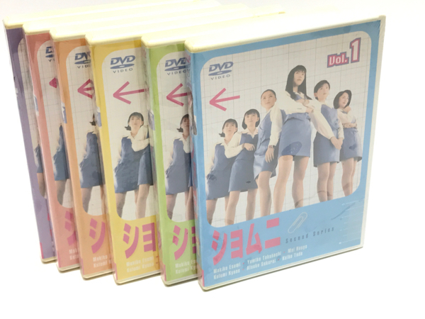 未開封 ショムニ シーズン2 全6巻セット 江角マキコ グッズの画像