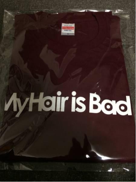 my hair is bad/Tシャツ/Mサイズ/新品/検)ninth apollo/yonige
