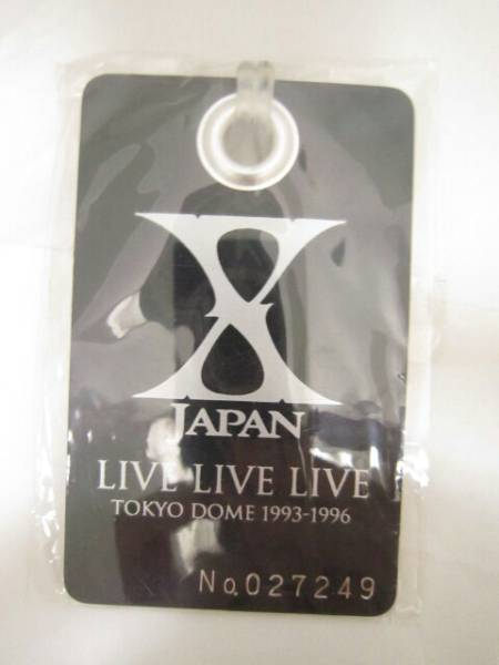 X JAPAN LIVE TOKYODOME 1993-1996 タグ