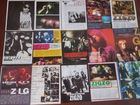 ZIGZO/SAKURA・TETSU 切り抜き 100ページ