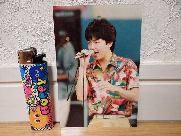80's 当時物 カルロストシキ&オメガトライブ 生写真 アイドル ④