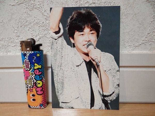 80's 当時物 カルロストシキ&オメガトライブ 生写真 アイドル ②