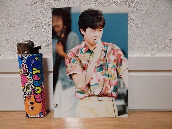 80's 当時物 カルロストシキ&オメガトライブ 生写真 アイドル ①