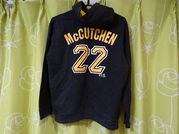 希少 MLB パイレーツ McCUTCHEN メジャーリーグ パーカー 子供用 グッズの画像