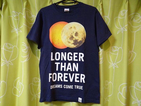 新品 ドリカム LONGER THAN FOREVER 金環食 吉田美和 Tシャツ XS