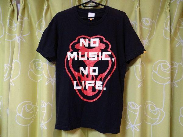 風とロック LIVE福島 CARAVAN日本 タワーレコード Tシャツ L