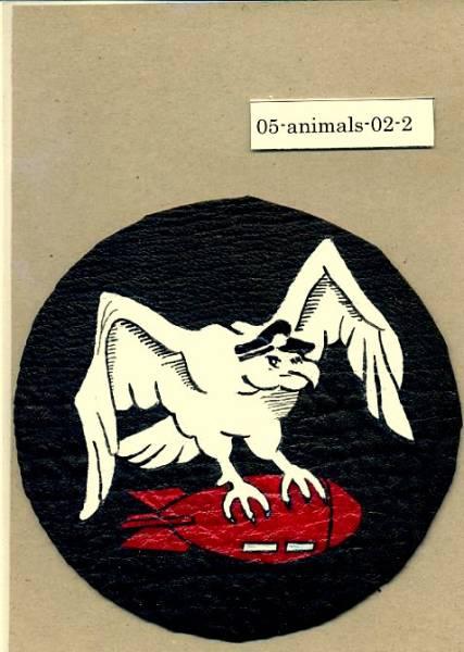 春季処分セール/完全手描パッチ/43rd Bomb Squadron古色風/1/ハンドペイント_お譲りする実物