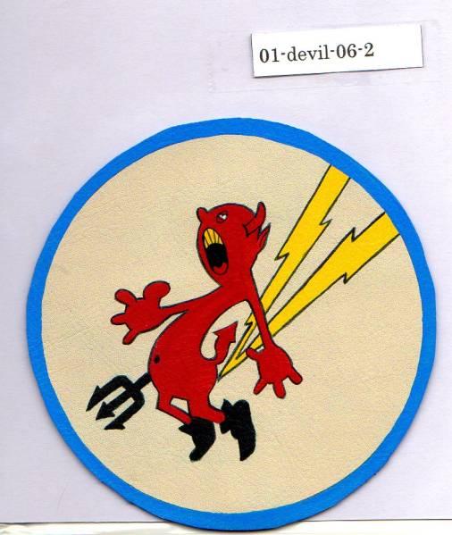 春季処分セール/完全手描きパッチ■384th Fighter Squadron■3rd/ハンドペイント_お譲りする実物