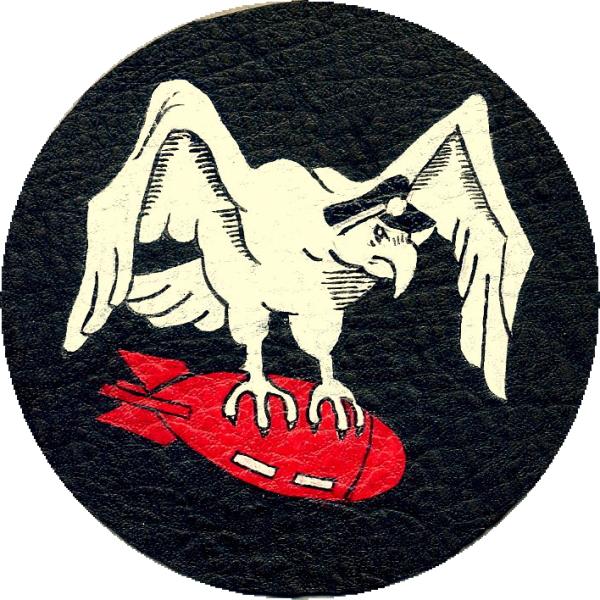 春季処分セール/完全手描パッチ/43rd Bomb Squadron古色風/1/ハンドペイント_サンプル